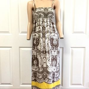 Talbots Petites 100% Silk Maxi Dress S